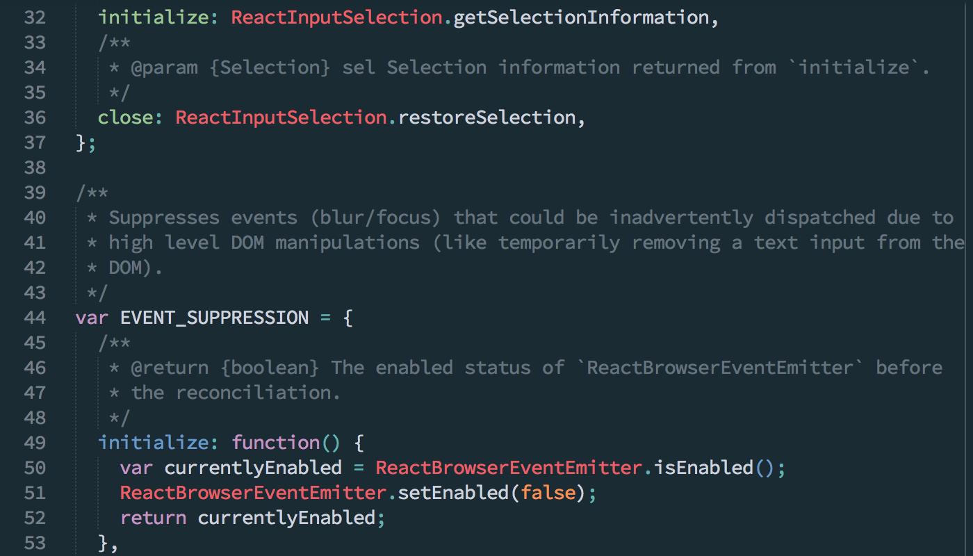Dive Into React Codebase Transactions React Kung Fu