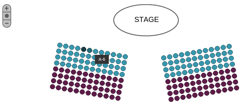 Seats.io Venue Map